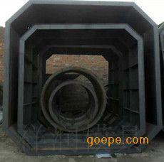 白灰化粪池钢道具 质量牢靠污电解粪池道具拼接图