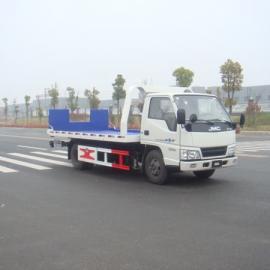 上蓝牌道路救援拖车|江铃蓝牌一拖二事故救援拖车
