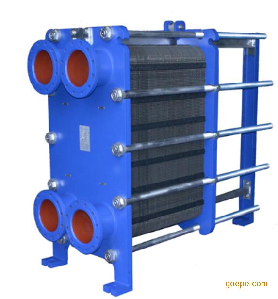 结构参数     1,结构板式换热器由一组波纹金属组成,板上有角孔