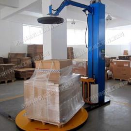 压力式纸箱缠绕包装机,压顶包装机