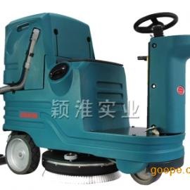 驾驶式全自动洗地机大型工厂用洗地拖地机刷地机