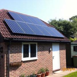 家用并网光伏发电系统供应3KW别墅屋顶专用太阳能并网电站