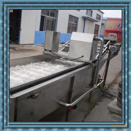 不锈钢链板输清洗机 果蔬清洗设备 高压水流清洗机
