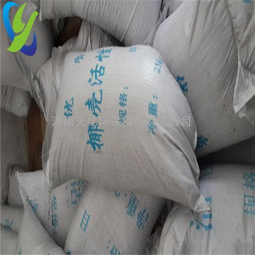 山东饮用水处理用4-8目椰壳活性炭