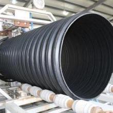 菏泽PE管《钢带增强聚乙烯螺旋波纹管》高效排污管