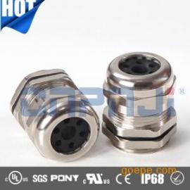 品基电缆金属防水接头M25*1.5金属防水接头波纹管