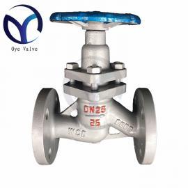 柱塞阀 U41SM-16C蒸汽管道锅炉专用节能环保碳钢阀门