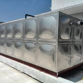 不锈钢水箱安装案例(现场安装)