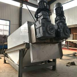 化工行业通用不锈钢叠螺式污泥脱水机 污泥脱水机工作原理
