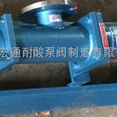 螺杆泵型号 单螺杆泵价格 G型污水泵 泥浆泵 无锡宏通