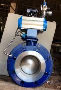 气动进料圆顶阀 YDF 充气式圆顶阀 卸灰半球阀门