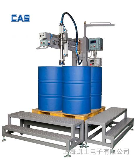 200升自动称重灌装机_IBC吨桶灌装_韩国凯士质量保障