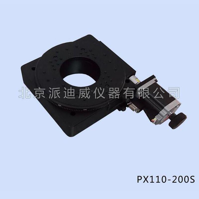 PX110-200S精密电动转台 蜗轮蜗杆旋转台 北京现货