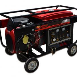 双缸400A美国科勒汽油发电电焊机报价