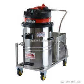 供应24V电源不便吸水吸尘吸铁屑用威德尔锂电池吸尘器60L