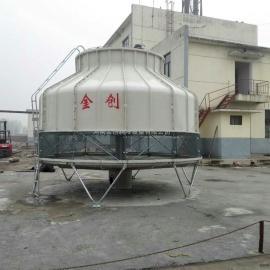 优质金创JC系列圆型逆流式玻璃钢冷却塔郑州厂家直销