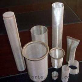 污水处理不锈钢网过滤器用滤筒带法兰可订制