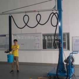 20升化工油漆、涂料桶码垛气动吸盘吊具、气体防爆气管吸吊机