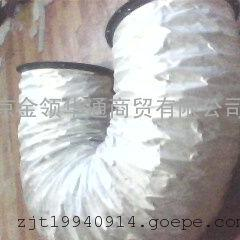供应硅箔(玻)钛金软管.a一级防火软管