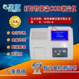 电镀厂废液COD测定仪废水COD快速检测仪0-10000