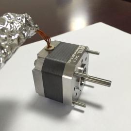 真空防辐射固体润滑步进电机