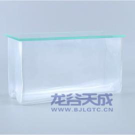 玻璃层析缸 双槽 薄层色谱层析缸 10cm 20cm
