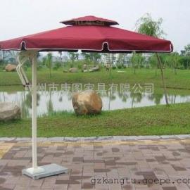 康图户外家具 户外家具厂 热销铝合金中柱遮阳伞 户外休闲太阳伞