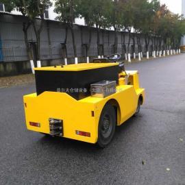 20吨座驾电动牵引车 牵引车拖车牵引头 同轨迹挂车非标定制