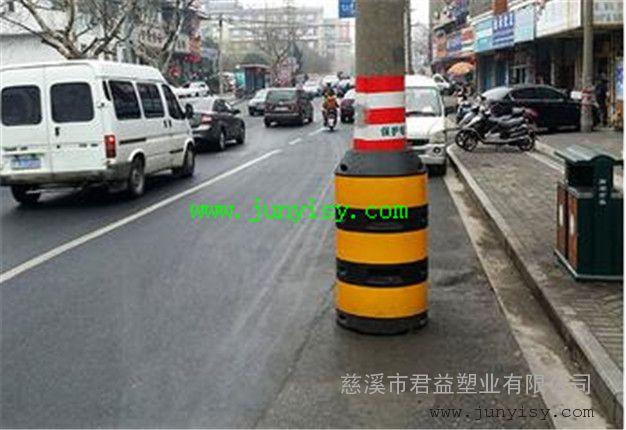 警示电线杆防撞桶 直径800*1200电杆防撞墩