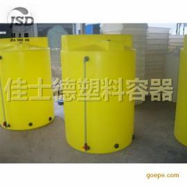 鄂尔多斯5立方PE加药箱/5吨PE搅拌罐各种型号