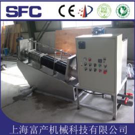 【上海富产】DL-101叠螺式污泥压滤机 污泥脱水机