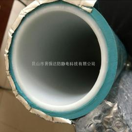 粘尘滚轮1000mmpe管包胶找易强达厂家唯独研发质量标准