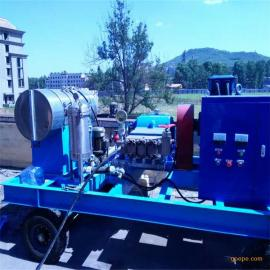 高压清洗机 电厂管道水垢清洗 电机驱动电厂列管清洗设备
