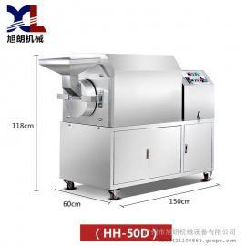 咖啡豆炒货机价格 不锈钢板栗炒货机
