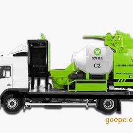 滚筒式车载泵-金牛C2_车载搅拌泵_金牛重工