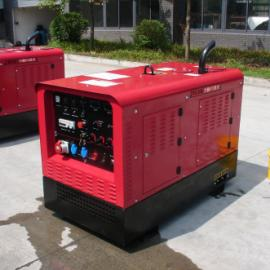 400A静音柴油发电电焊机带16kw静音柴油发电机多少钱