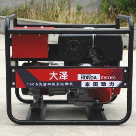 管道自动焊接机/190A本田汽油发电电焊机