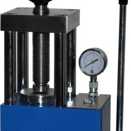 KD-15T型手动台式压片机实验室压片机小型粉末压片机