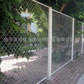 成都包塑勾花网/公路绿化带防护网/公园广场围网