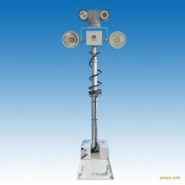 车载曲臂式升降照明灯,高清车载云台摄像机SDI警车热成像仪