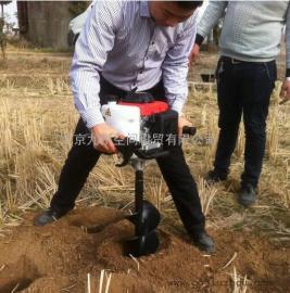 植树打孔机、挖树种树挖坑机