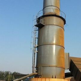 山东枣庄新型湿式脱硫除尘器砖瓦窑炉脱硫塔