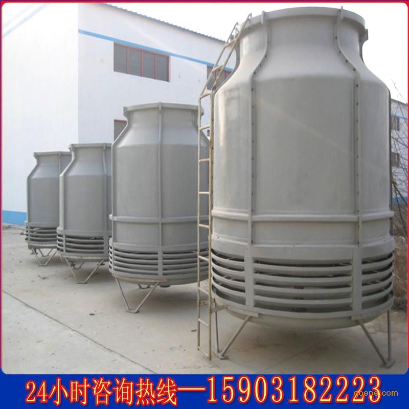 系列冷却塔参数设计的低噪声,高效率风机,铝合金板翼型或玻璃钢叶片