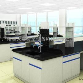 设计订制全钢实验边台 化学实验台 边台 中央台 全钢实验台