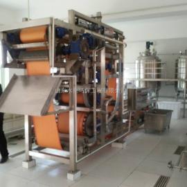 食品污水处理设备——三网带式压滤机 达标排放