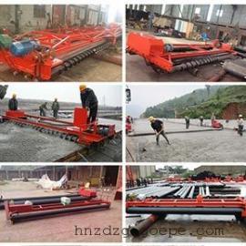 襄樊摊铺机10米重型水泥砼整平机9.5米辊轴式混凝土路面铺路机