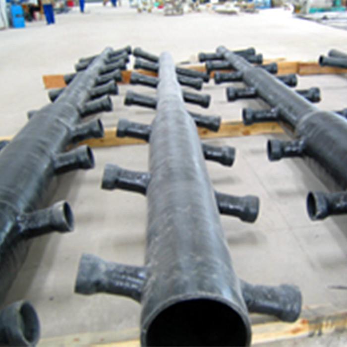 脱硫吸收塔FRP喷淋管 玻璃钢喷淋层