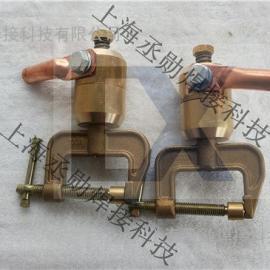 丞勋焊接-C型地线夹CZ-700全铜旋转接地夹 接地器