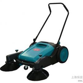 手推式双刷扫地机无动力工业扫地机车间工厂仓库商场车间清扫机