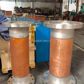 FP不锈钢氧气管道阻火器 阀前氧气阻火器 法兰氧气阻火器